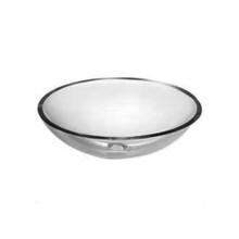 """Opella 20414 Clear Glass Vessel Sink - 16"""" x 6"""""""