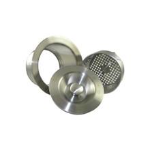 Opella 90099.045 Disposer Flange & Stopper & Basket  - Polished Stainless Steel