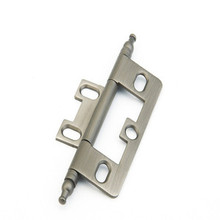 Schaub 1100M-AN Minaret Tip Non-Mortise Hinge - Antique Nickel