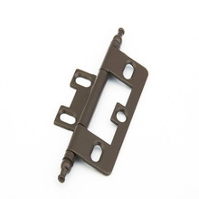 Schaub 1100M-10B Minaret Tip Non-Mortise Hinge - Oil Rubbed Bronze