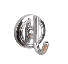 Valsan  M8022NI Oslo Polished Nickel Single Robe Hook