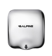 Alpine  Hemlock Chrome  Automatic High Speed Commercial Hand Dryer 110/120V
