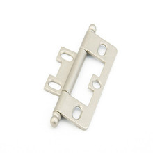 Schaub 1100B-DN Ball Tip Non-Mortise Hinge - Distressed Nickel