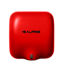 Alpine  Hemlock Red Automatic High Speed Commercial Hand Dryer 110/120V