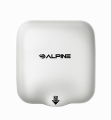 Alpine  Hemlock  White Automatic High Speed Commercial Hand Dryer 220/240V
