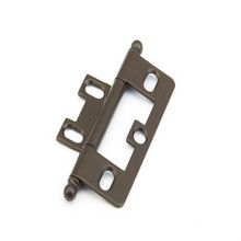 Schaub 1100B-10B Ball Tip Non-Mortise Hinge - Oil Rubbed Bronze