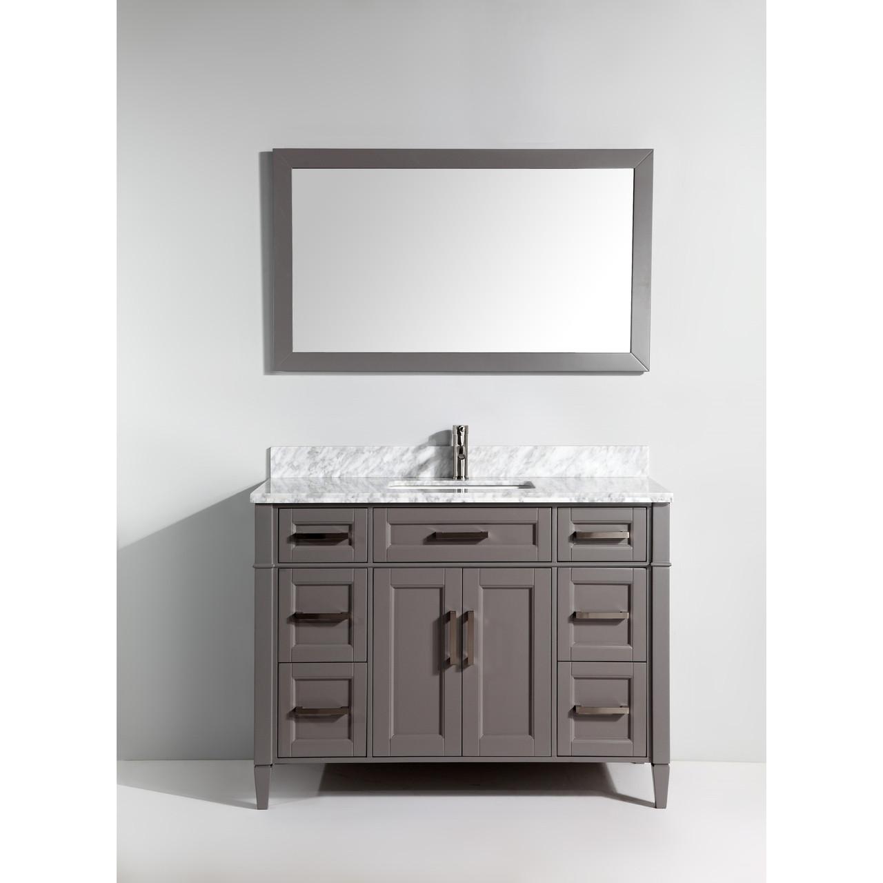 Vanity Art Va2060g 60 Inch Single Sink Vanity Cabinet With Carrara