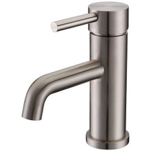 Vanity Art VA10119-BN Single Handle Bathroom Faucet with Drain Assembly - Brushed Nickel