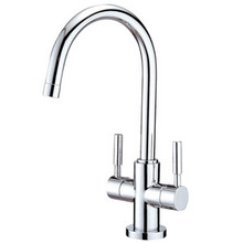 Kingston Brass Two Handle Single Hole Lavatory Faucet - Polished Chrome KS8291DL