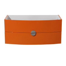 "Fresca  FCB5092OR Fresca Energia 36"" Orange Modern Bathroom Cabinet"