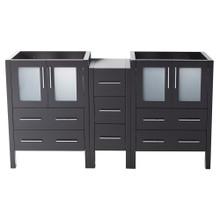 """Fresca  FCB62-241224ES Fresca Torino 60"""" Espresso Modern Bathroom Cabinets"""