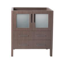"Fresca  FCB6230GO Fresca Torino 30"" Gray Oak Modern Bathroom Cabinet"