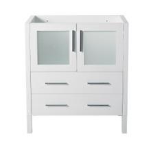 "Fresca  FCB6230WH Fresca Torino 30"" White Modern Bathroom Cabinet"