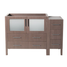 "Fresca  FCB62-3612GO Fresca Torino 48"" Gray Oak Modern Bathroom Cabinets"
