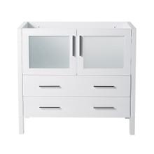 "Fresca  FCB6236WH Fresca Torino 36"" White Modern Bathroom Cabinet"
