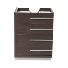 "Fresca  FCB8024GO Fresca Livello 24"" Gray Oak Modern Bathroom Cabinet"