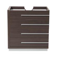 "Fresca  FCB8030GO Fresca Livello 30"" Gray Oak Modern Bathroom Cabinet"