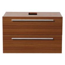"""Fresca  FCB8080TK Fresca Medio Teak Modern 32"""" Wall Mount Bathroom Cabinet"""