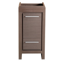 "Fresca  FCB8118GO Fresca Allier 16"" Gray Oak Modern Bathroom Cabinet"