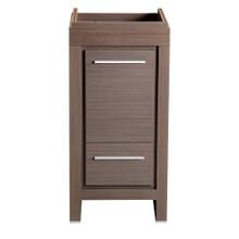 """Fresca  FCB8118GO Fresca Allier 16"""" Gray Oak Modern Bathroom Cabinet"""