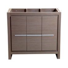 "Fresca  FCB8136GO Fresca Allier 36"" Gray Oak Modern Bathroom Cabinet"