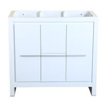 """Fresca  FCB8136WH Fresca Allier 36"""" White Modern Bathroom Cabinet"""