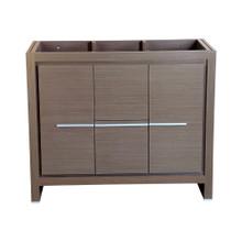 """Fresca  FCB8140GO Fresca Allier 40"""" Gray Oak Modern Bathroom Cabinet"""
