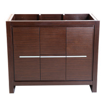 "Fresca  FCB8140WG Fresca Allier 40"" Wenge Brown Modern Bathroom Cabinet"