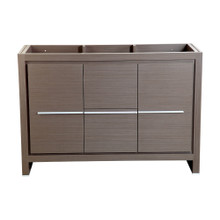 "Fresca  FCB8148GO Fresca Allier 48"" Gray Oak Modern Bathroom Cabinet"