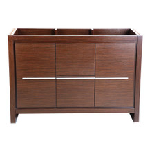 "Fresca  FCB8148WG Fresca Allier 48"" Wenge Brown Modern Bathroom Cabinet"