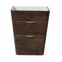 """Fresca  FCB8525RW Fresca Milano 26"""" Rosewood Modern Bathroom Cabinet"""