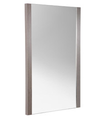 "FMR6224GO Fresca Torino 21"" Gray Oak Wall Mirror"