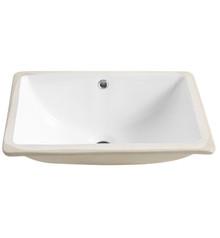 """FVS8119WH Fresca Allier White Undermount Sink 18.25"""" W x 13.38"""" D x 7.5"""" H"""