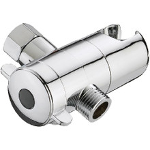 Mountain Plumbing MT19-CPB Handshower to Shower - Showerarm Mount with Diverter - Polished Chrome