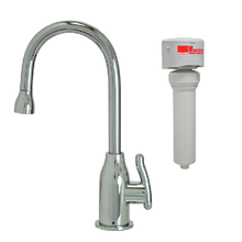Mountain Plumbing MT1803FIL-NL-PVDPN Point-of-Use Drinking Faucet & Mountain Pure Water Filtration System - PVD Polished Nickel
