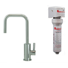 Mountain Plumbing MT1833FIL-NL-SC Point-of-Use Drinking Faucet With Water Filtration System - Satin Chrome