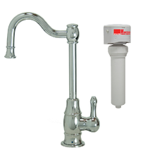 Mountain Plumbing MT1873FIL-NL-PVDPN Point-of-Use Drinking Faucet With Water Filtration System - PVD Polished Nickel