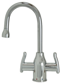 Mountain Plumbing MT1801-NL-PVDPN Instant Hot & Cold Water Dispenser Faucet - PVD Polished Nickel