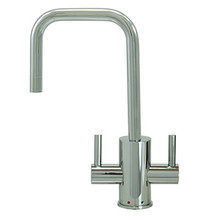 "Mountain Plumbing MT1831-NL-PVDBRN ""The Little Gourmet"" Instant Hot & Cold Water Faucet - PVD Brushed Nickel"