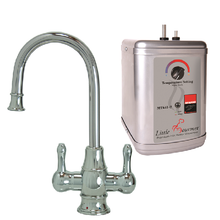 Mountain Plumbing MT1851DIY-NL-PVDPN Instant Hot & Cold Water Dispenser Faucet With Heating Tank - PVD Polished Nickel