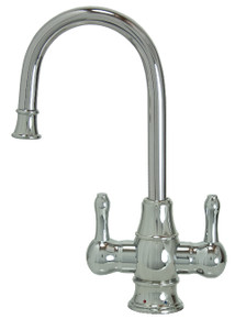 "Mountain Plumbing MT1851-NL-PVDPN ""The Little Gourmet"" Instant Hot & Cold Water Faucet - PVD Polished Nickel"