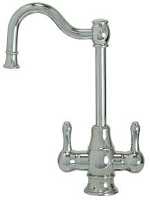 "Mountain Plumbing MT1871-NL-VB ""The Little Gourmet"" Hot & Cold Water Faucet - Venetian Bronze"