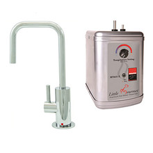 Mountain Plumbing MT1830DIY-NL-PVDPN Instant Hot Water Dispenser Faucet With Heating Tank - PVD Polished Nickel