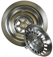Mountain Plumbing MT300-PS Kitchen Sink Strainer - Polished Stainless