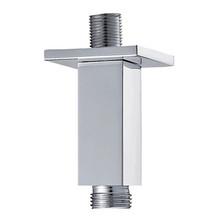 "Mountain Plumbing MT31-6-BRN 6"" Square Ceiling Drop Shower Arm - Brushed Nickel"