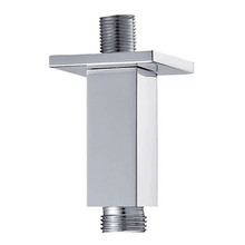 """Mountain Plumbing MT31-6-CPB 6"""" Square Ceiling Drop Shower Arm - Polished Chrome"""