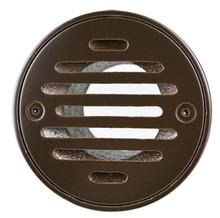 "Mountain Plumbing MT507-GRID-EB 4"" Round Solid Nickel Bronze Plated Drain Grid - English Bronze"