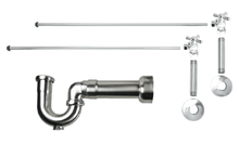 Mountain Plumbing MT616MASS-NL-CPB New England Lavatory Supply Kit - Angle - Polished Chrome