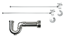 Mountain Plumbing MT621MASS-NL-CPB New England Lavatory Supply Kit - Angle - Polished Chrome