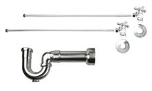 Mountain Plumbing MT621MASS-NL-SC New England Lavatory Supply Kit - Angle - Satin Chrome